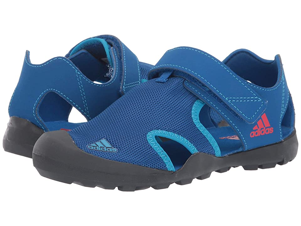 adidas Outdoor Kids Captain Toey (Toddler/Little Kid/Big Kid) (Blue Beauty/Grey Six/Active Red) Boys Shoes
