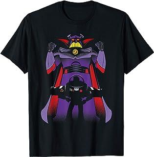 Disney Pixar Toy Story Zurg With Buzz Lightyear Silhouette T-Shirt