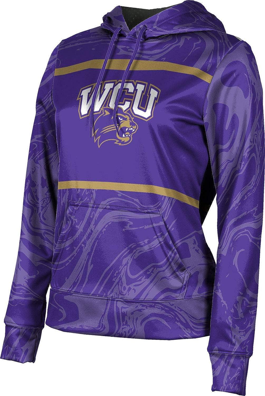 Western Carolina University Girls' Pullover Hoodie, School Spirit Sweatshirt (Ripple)