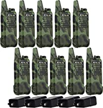 Retevis RT22 10 Pack Walkie Talkies, 2 Way Radios Long Range, Rechargeable Two Way Radio, for School Retail Warehouse