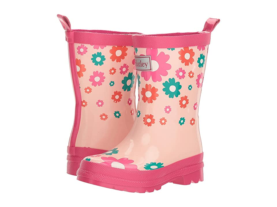 Hatley Kids Limited Edition Printed Rain Boots (Toddler/Little Kid) (Scattered Flowers) Boys Shoes