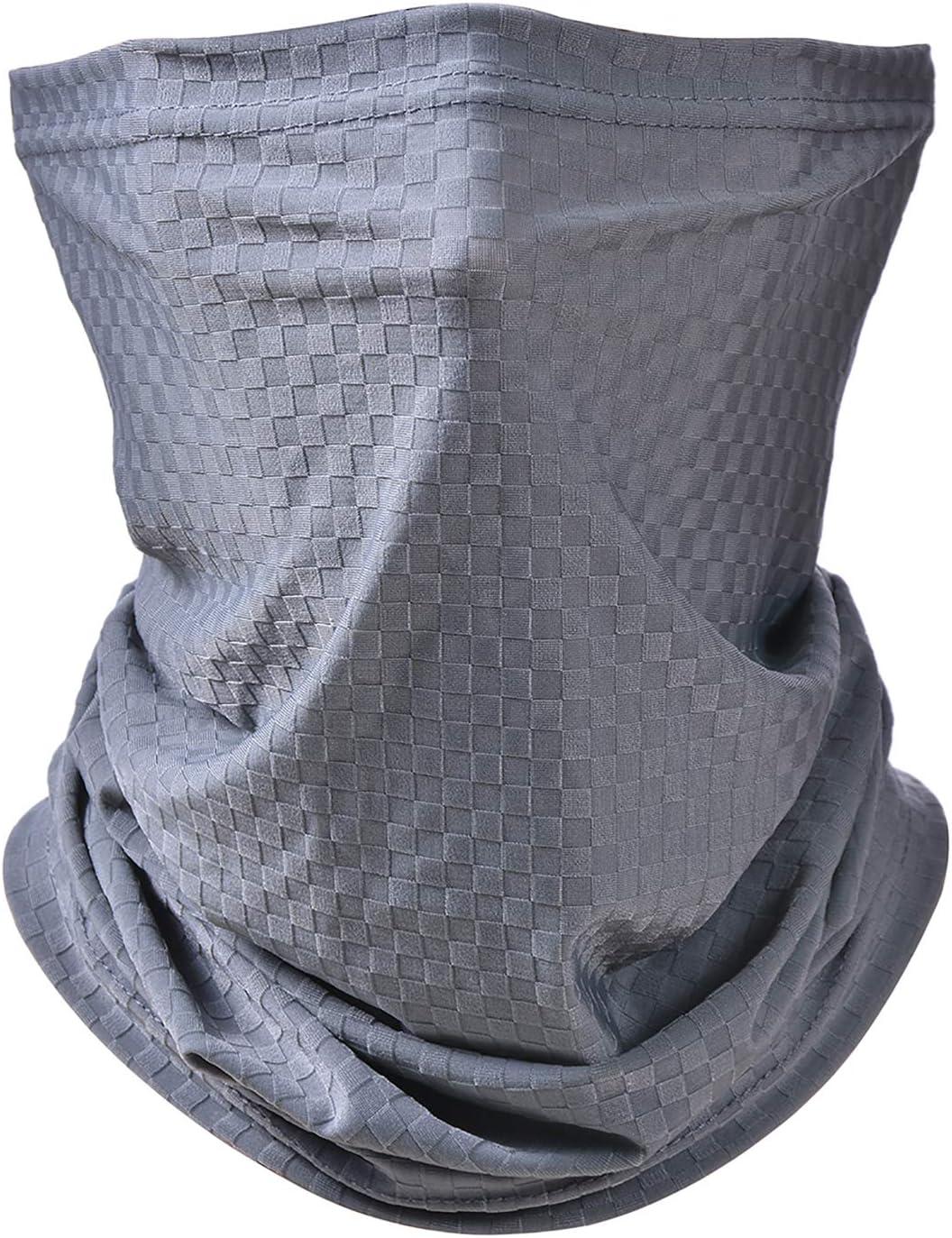 Pañuelos Cabeza Elástica Multifunción,Braga Cuello Hombre y Mujer,Protección UV Transpirable Braga Cuello Moto Calentador,Adecuado para Actividades al Aire Libre,montañismo, Motos.