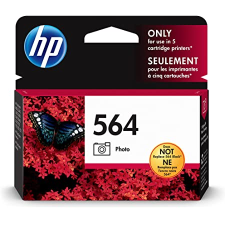 HP 564   Ink Cartridge   Photo   Works with HP Photosmart D5225, D5460, D7560, 7500 Series, C6300 Series, C510a, C309g, C310a, C410a, C309n, C311a, B8550   CB317WN
