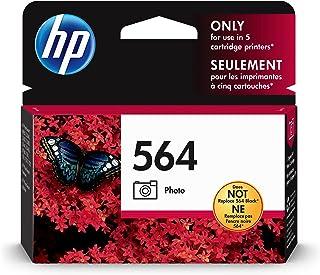 HP 564 | Ink Cartridge | Photo | Works with HP Photosmart D5225, D5460, D7560, 7500 Series, C6300 Series, C510a, C309g, C3...