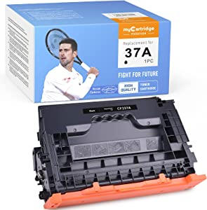 myCartridge PHOEVER Compatible Toner Cartridge Replacement for HP 37A CF237A Toner Cartridges for Enterprise M608 M607 M607n M607dn M608n M608dn M608x M609 MFP M631 M632 Printer (1 Black)