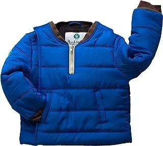 baby boy blue winter coat