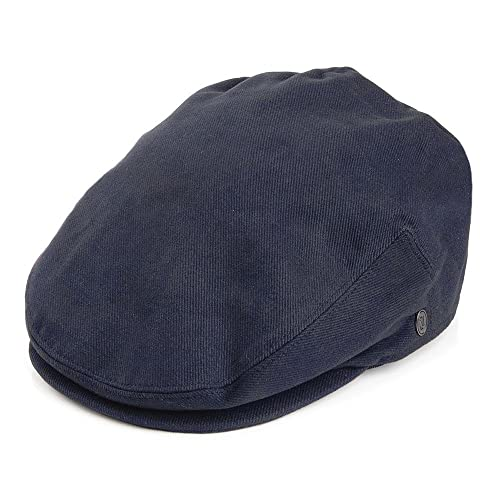 Jaxon Lightweight Classic Cotton Ivy Newsboy Paperboy Flat Cap Hat with  Fixed Sizing c13a3cdebce