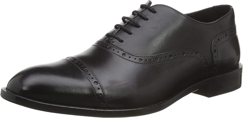 Geox Men's U SAYMORE A Oxfords, Black (Black C9999)