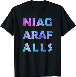 Niagara Falls New York Honeymoont or Visitor Souvenir Gift T-Shirt