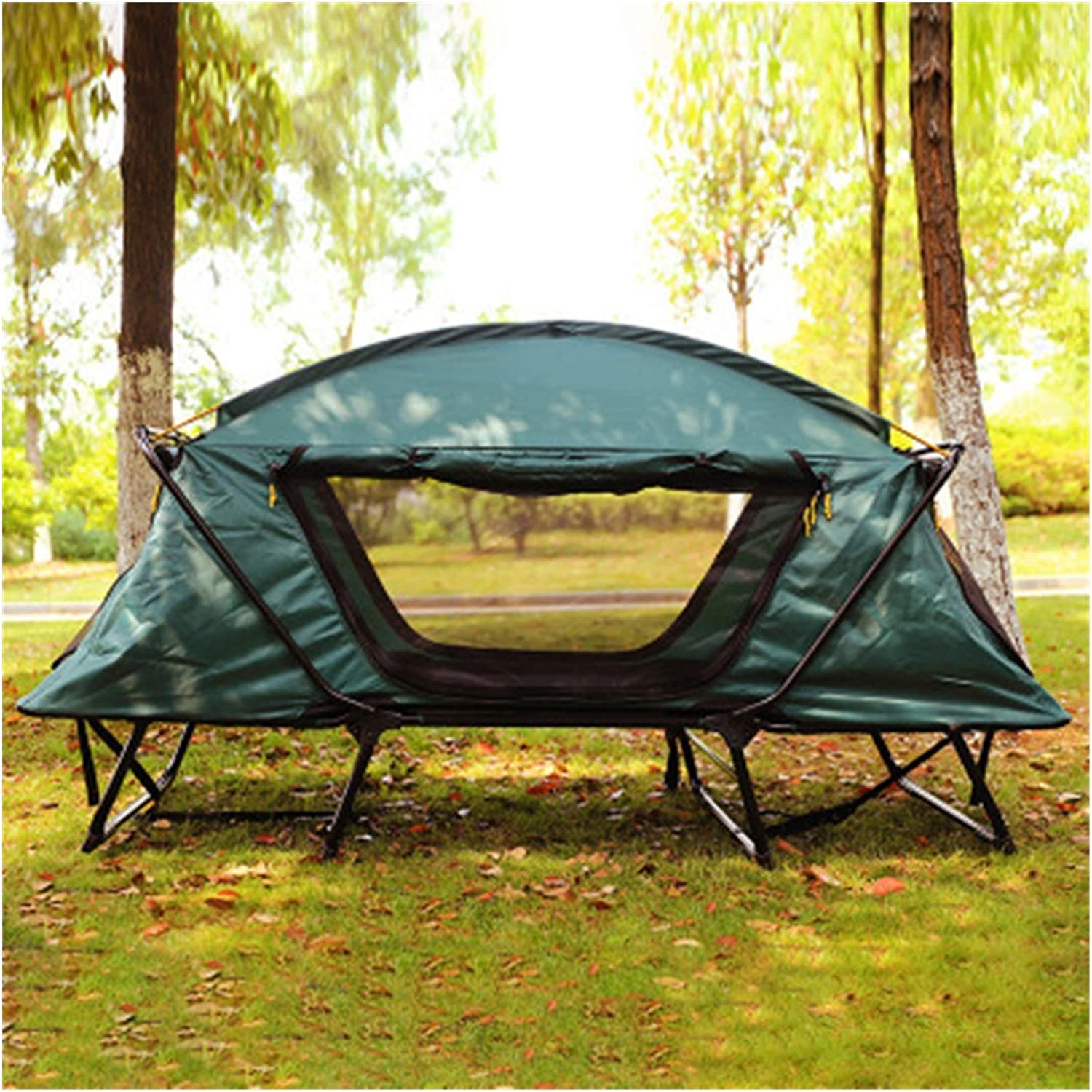 FUBINMY Tents Outlet ☆ Free Shipping Camping High quality new Single Waterproof One-Bedroom Tent