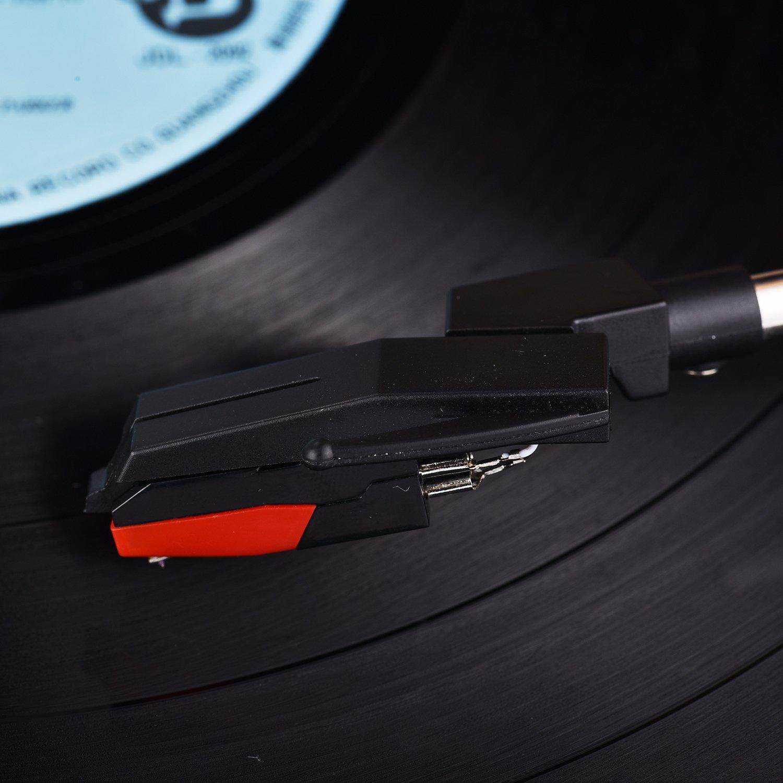 fonpeak Phono Turntable Stereo cartucho de cerámica w/Diamond ...