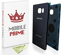MOBILEPRIME Blue Replacement Back Glass Back Cover Compatible for Samsung Galaxy Note 5