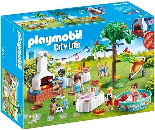 Playmobil - Famille et Barbecue Estival - 9272