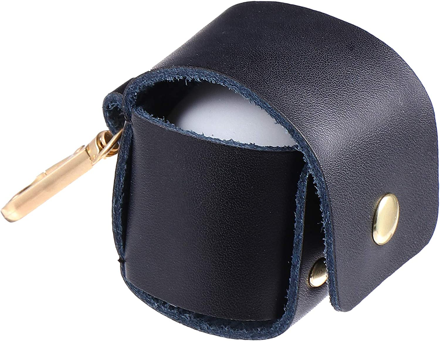 Max 68% OFF Easy-to-use ABOOFAN Golf Ball Bags Trainin Pouch Mini Leather