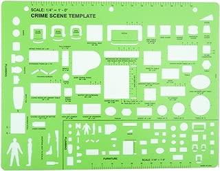 crime scene drawing template