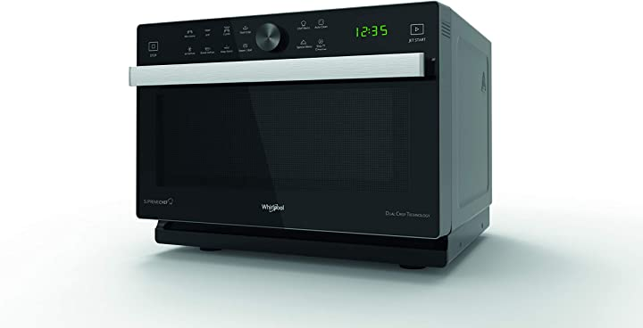 Forno a microonde supreme chef + grill, con double steamer whirlpool mwp 337 sb MWP337SB