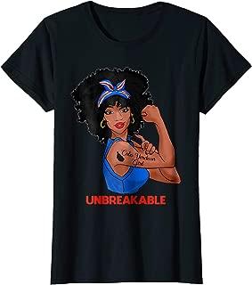 Womens Cabo Verdean Girl Unbreakable Strong Women T Shirt