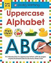 Uppercase Alphabet: Wipe Clean Workbooks