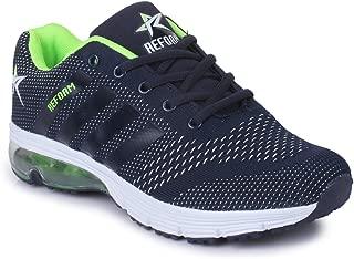 REFOAM Men's Navy Blue Running Shoes