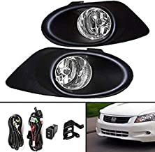 Best 2008 honda accord fog light replacement Reviews