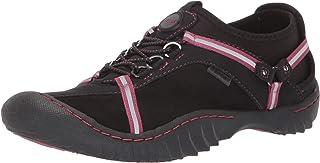 JSport by Jambu Women's Tahoe Ultra Sneaker, Black/Rose Dust, 6 M US
