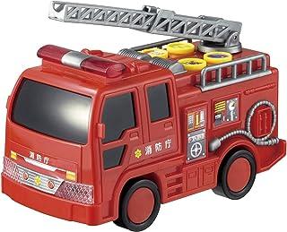 会发声的闪灯消防车