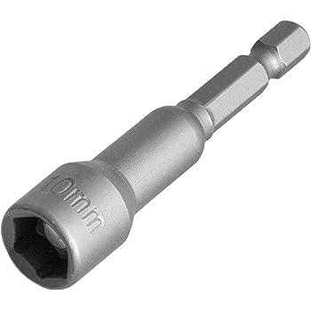 "Steckschlüsseleinsatz Steckschlüssel mit Dauermagnet Bithalter 1//4/"" Sechskant"