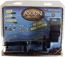 Axion Edge Sight 5 Pin .019 Black With Blue Light