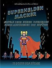 Arbeitsblätter Schneiden Und Kleben Superhelden Macher