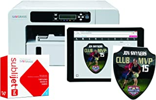 Sawgrass Virtuoso Sublimation Printer With CMYK Inks & 100 Sheets Of 8-1/2