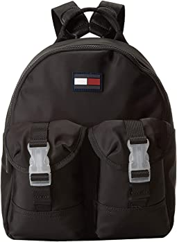 117598a0c388 Tommy Hilfiger  Padded  Magnetic  Drawstring  Camo. Right Scroll. Lola  Small Backpack