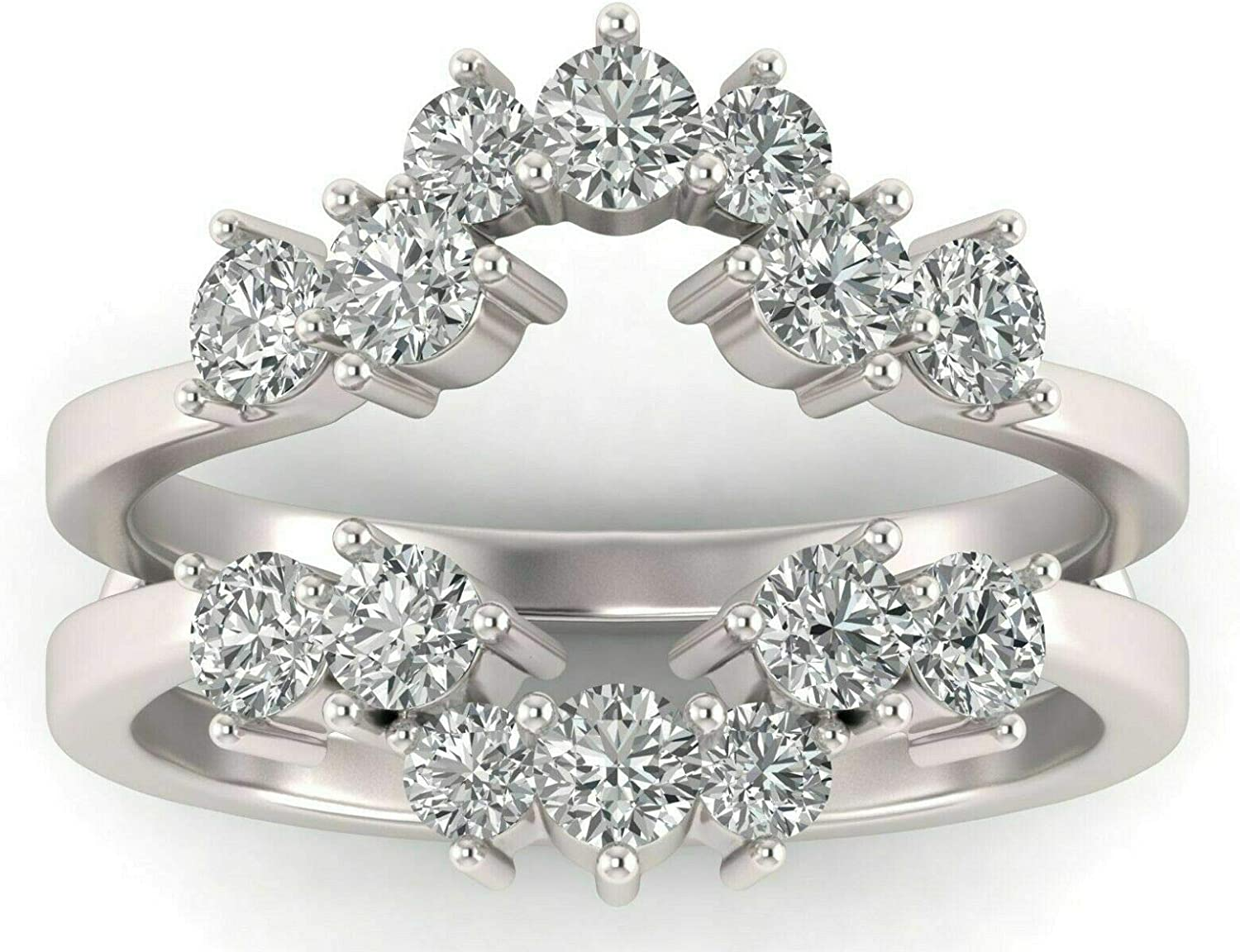 Pritvi Jewels Selling and selling Created Round Cut White Sterling Si Diamond in Max 65% OFF 925