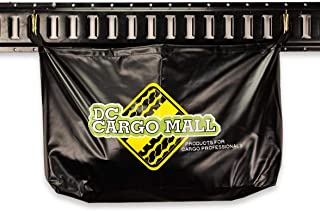 HEAVY DUTY Vinyl Trailer Storage Bag with E-Track Spring Fittings | Insert Into E Track Tie-Down System Horizontal/Vertica...