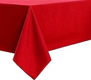 VOTOWN HOME Nappe décorative lavable - Résistante à l'eau - Rectangulaire - Pour la maison, le dîner, les mariages, les fê...