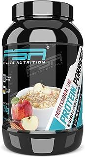 Porridge proteico, Gachas de avena con proteína en polvo de suero de leche con fruta