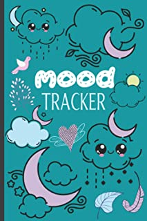Mood Tracker Diary: Mental Health journal For Teens - Track Mood, Ease Anxiety, Set Goals, Promote Positive Thinking & Gra...