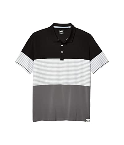 PUMA Golf Taylor Polo (PUMA Black) Men