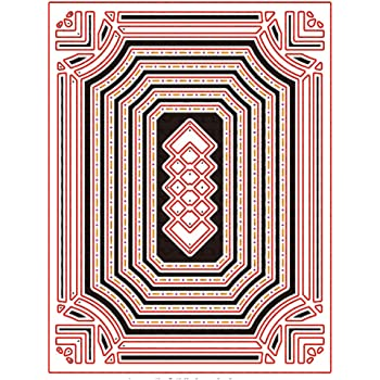 Polygonal Metal Cutting Dies Stencil Scrapbooking Photo Album Paper Card DIY