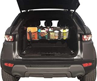 """Car Backseat Organizer for Kick Mat, Upgraded Extended Size and Larger Pockets Car Back Seat Protector with 12"""" Screen Tab..."""