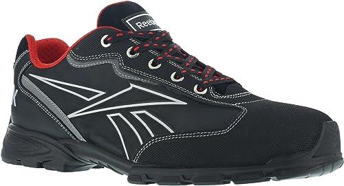 Reebok travail travail Ib1011S342Audacious Sport orteil Chaussures de travail en aluminium, étanche, 42, Noir argent  achats en ligne de sport