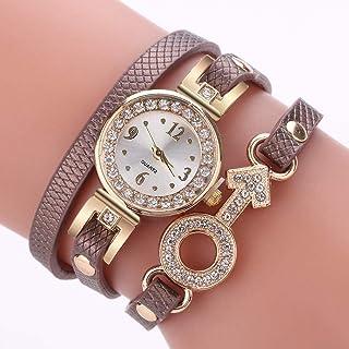 Wristband Women's Wrist Watches Ladies Series Girls Watch Female for Women Women's Bracelet Watch pu Leather Diamond Arrow...