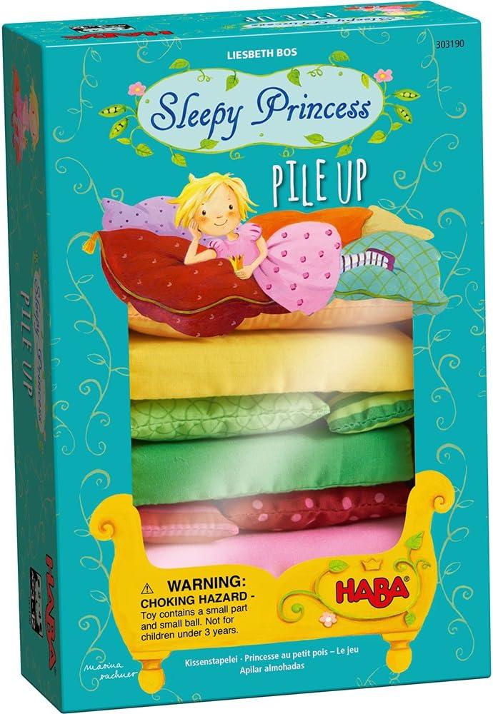 HABA Sleepy Princess Pile Many popular brands Up Super-cheap - Coop Games 2 Stacking Enchanting