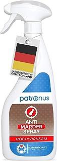 Patronus Marderspray für Auto & Dachboden 500ml   Sofort  & Langzeit Schutz gegen Marder   hochwirksam & laborgeprüft in Deutschland