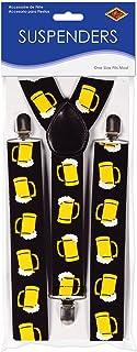 Beistle 60814 Beer Mug Suspenders