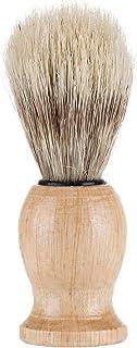 Nishore Men's Beard Shaving Brush Barber Salon Men Facial Beard Cleaning Grooming Appliance Shave Tool Razor Brush with Wo...