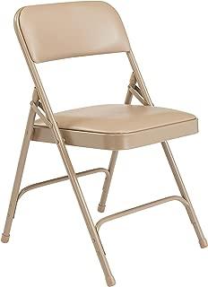 NPS 1200 Series Premium Vinyl Upholstered Double Hinge Folding Chair