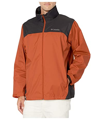 Columbia Glennaker Lake Rain Jacket (Harvester/Shark) Men