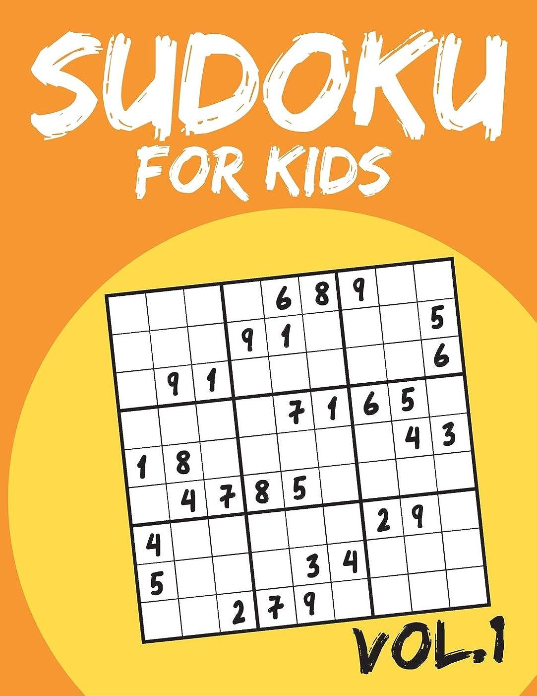 みすぼらしいバス昼食Sudoku For Kids: Sudoku Puzzle Books For Kids Age 6-10 (Easy To Hard) - Vol.1 (Suduku Book 9x9): Sudoku For Kids