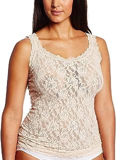 hanky panky Women's Size Plus Camisole, Chai, 2X