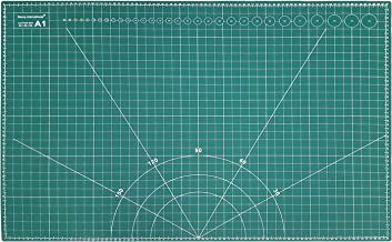 A1 (900X600MM) Cutting Mat Non Slip Self Healing Printed Grid Art & Craft Design